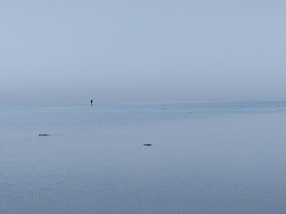 Sky and Sea and Human I